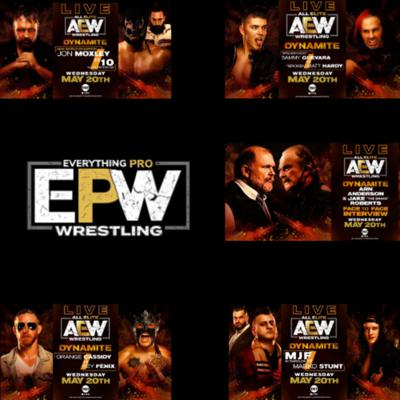 Cover art for AEW Dynamite 5-20-20 Full Show Review || Double Or Nothing Go Home Show ||