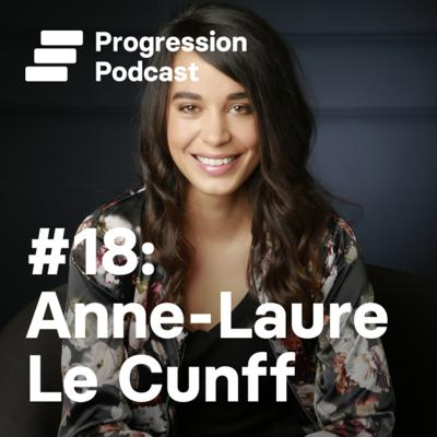 Cover art for #18 Anne-Laure Le Cunff on mindfulness, burnout, writing every day and building a business