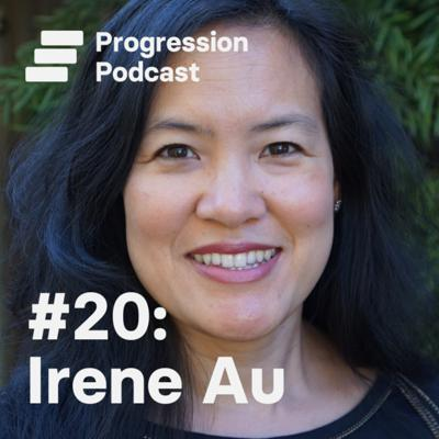 Cover art for #20: Irene Au (Khosla Ventures, Google) on scaling design teams and practices, scaling yourself and finding your why