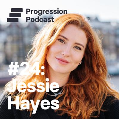 Cover art for #24: Jessie Hayes (Whereby, Box) on treating people like a product and keeping frameworks light