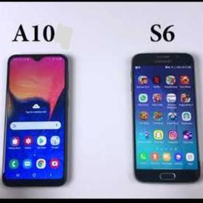Samsung Galaxy A10 and S6 camera