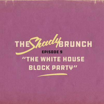 Cover art for the white house block party
