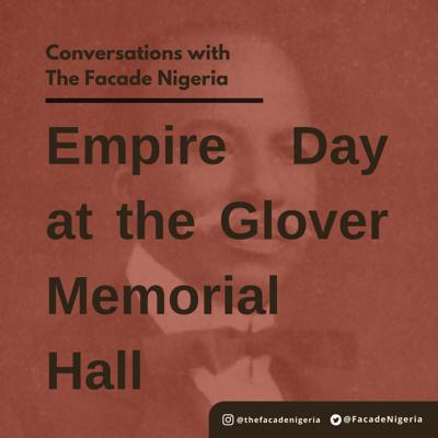 Cover art for Empire Day at the Glover Memorial Hall, 1907.