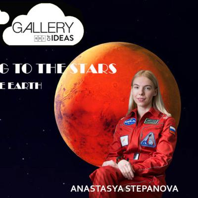Cover art for Looking to the Stars. Beyond the Earth. Special Show with Anastasia Stepanova hosted by Gabriel Ruiz Lopez