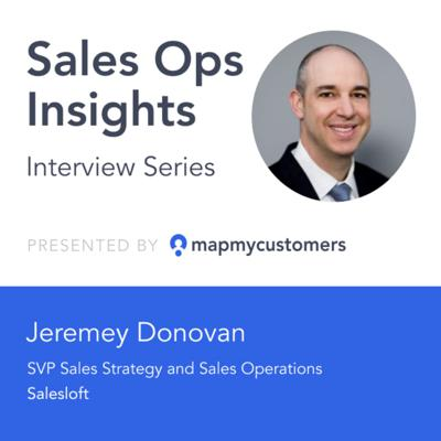 Cover art for Sales Ops Insights Series: Interview with Jeremey Donovan of SalesLoft