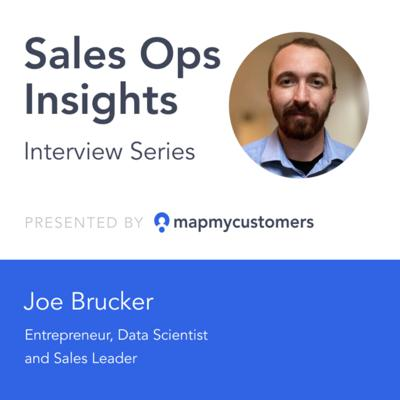 Cover art for Sales Ops Insights Series: Interview with Joe Brucker