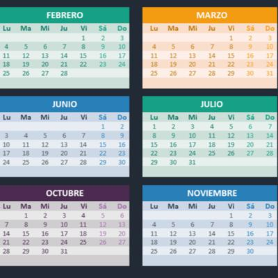 Cover art for Months of the year (part 2) Los meses del año.