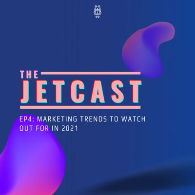 Cover art for Episode 4: 2021 is here, but what marketing trends are we looking out for?