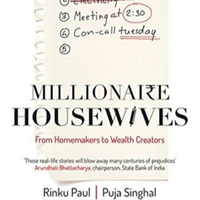Cover art for Book summary - Part2 of Millionaire Housewives-By Rinku Paul and Puja Singhal