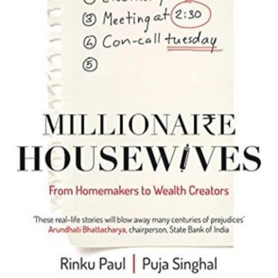Cover art for Book Summary - Millionaire Housewives By Rinku Paul and Puja Singhal Part1