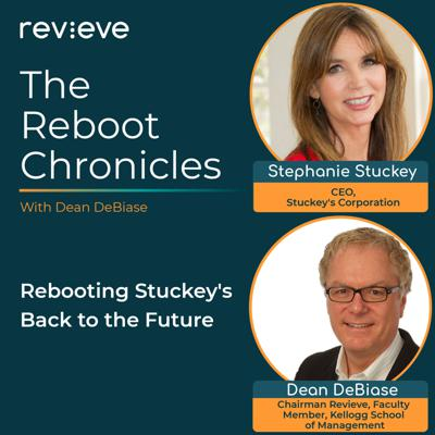 Cover art for Rebooting Stuckey's Back to the Future