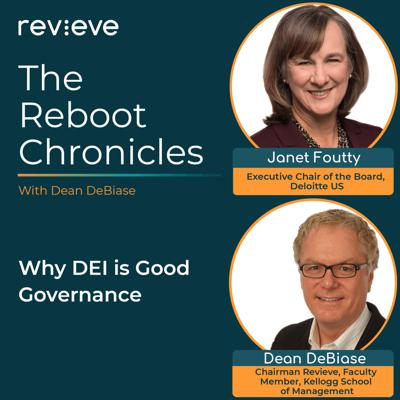 Cover art for Why DEI is Good Governance - Janet Foutty, the executive chair of the board of Deloitte