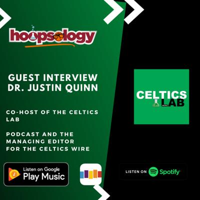 Cover art for What is next for the Boston Celtics?--With Dr. Justin Quinn of the Celtics Lab Podcast