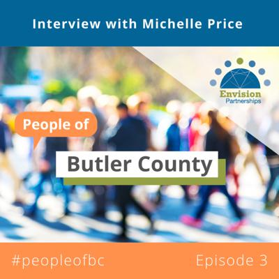 Cover art for People of Butler County Episode 3: Interview with Michelle Price