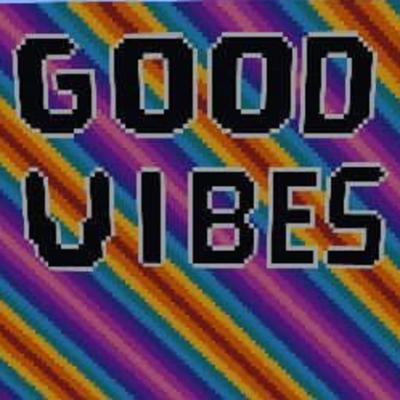Cover art for Episode 2 of the good vibes podcast
