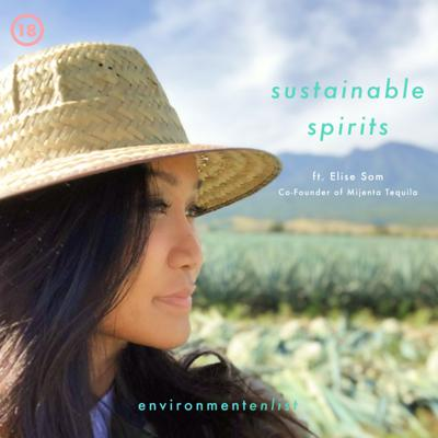 Cover art for Sustainable Spirits ft. Elise Som, Co-Founder of Mijenta Tequila