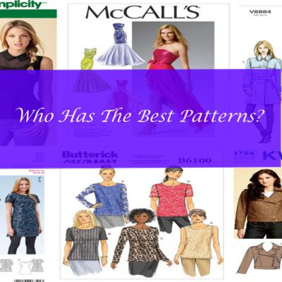 Who has the best sewing patterns?