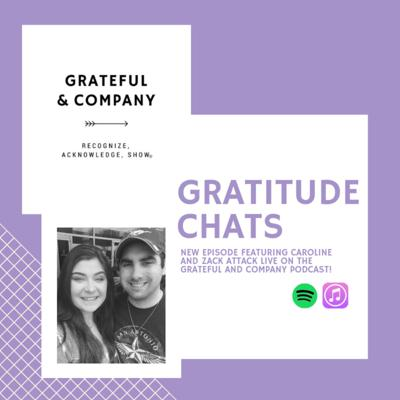Cover art for Gratitude Chats: How do our friends know we're grateful for them?