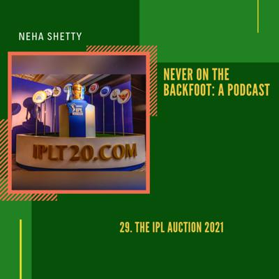Cover art for 29. The IPL Auction 2021