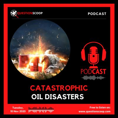 Cover art for CATASTROPHIC OIL DISASTERS