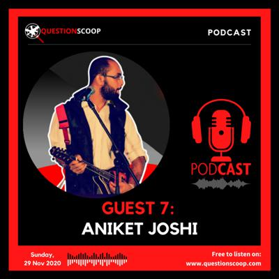 Cover art for GUEST 7 : FEATURING ANIKET JOSHI