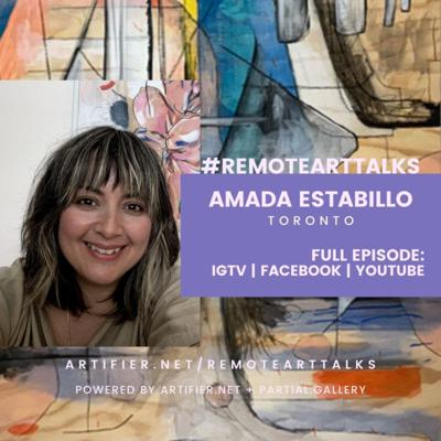 Cover art for E12 Amada Estabillo - Recreating memories through abstract elements and the role of an educator while in isolation.