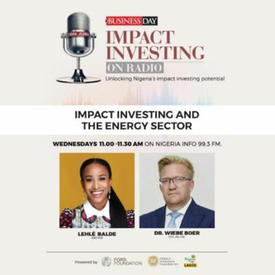 Cover art for Impact Investing And The Energy Sector
