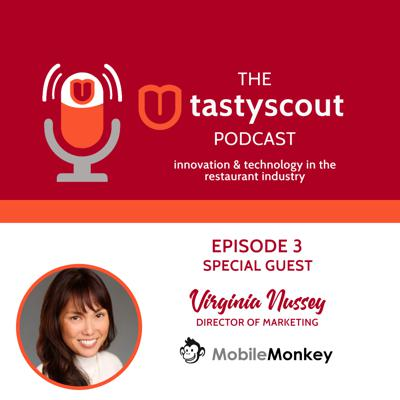 Cover art for Tastyscout Podcast Episode 3 - Interview with Virginia Nussey