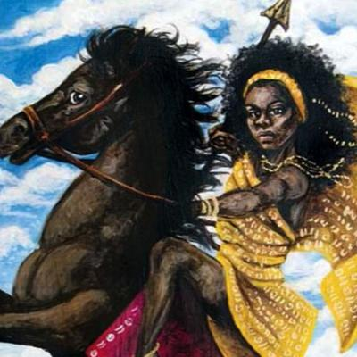 Cover art for Princess Yennenga: The Stallion-Riding Princess Who Saved An African Empire