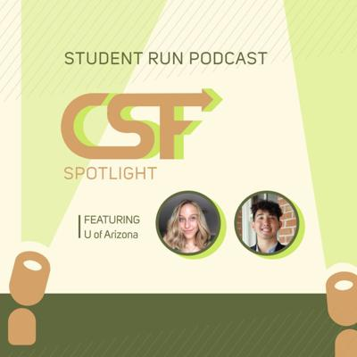 Cover art for CSF Spotlight # 6 Interview with the U of Arizona Green Fund