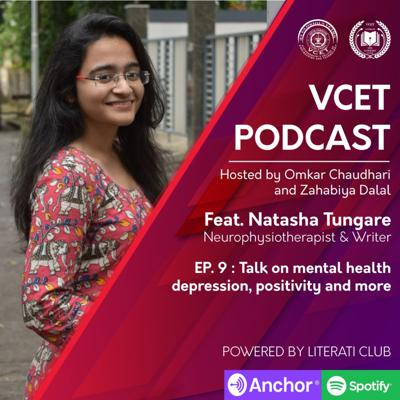 Cover art for Talk on mental health, depression, positivity and more
