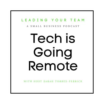 Cover art for Tech is Going Remote