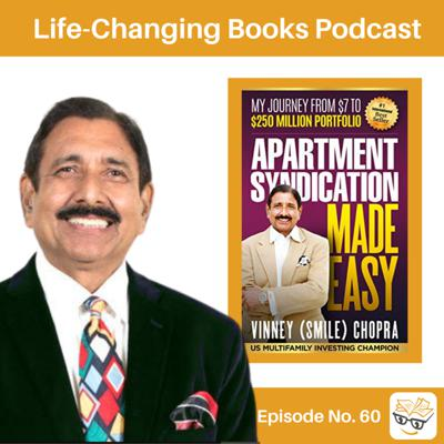 Cover art for 60. Vinney Chopra: Author of Apartment Syndication Made Easy