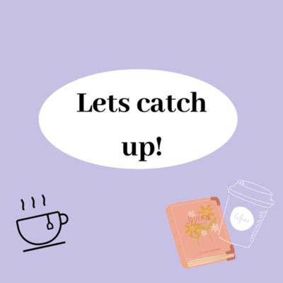 Cover art for Let's catch up!!