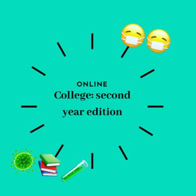 Cover art for College: second year edition!