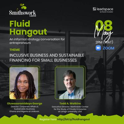 Cover art for Fluid Hangout 4: Inclusive Business and Sustainable financing for Small businesses