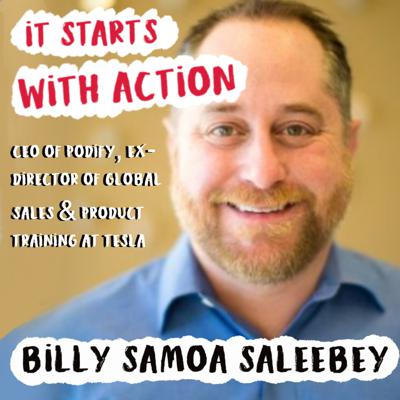 Cover art for Episode 59 - It starts with Action : Lead with questions with Billy Samoa Saleebey