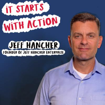 Cover art for Episode 63 - It starts with Action : What does it take to win? How to achieve your ambitious goals