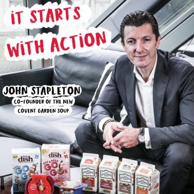 Cover art for Episode 66 - It starts with Action : How to face uncertainity and develop courage with John Stapleton