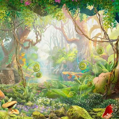 Cover art for Bedtime Story: Princess Ellie Rides through the Magic Forest