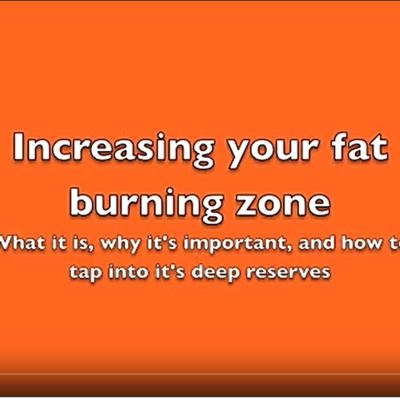 Cover art for Fat burning & energy reserves - how to maximise both!