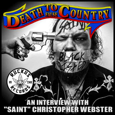 Cover art for Death To False Country 001 (featuring an interview with