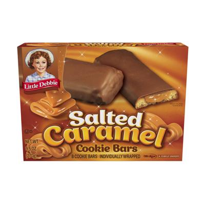 Cover art for Salted Caramel Cookie Bars.