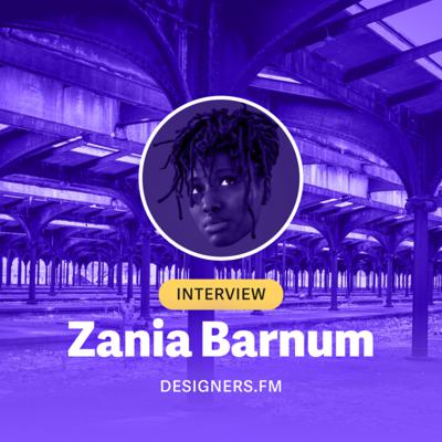 #8 · Zania Barnum · 🇺🇸 · Design Manager