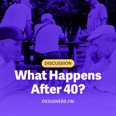 Cover art for #12 · What Happens After 40?