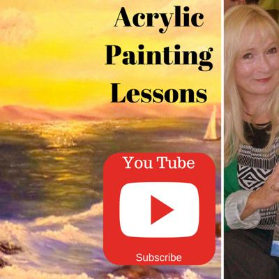 Cover art for Getting Started with Acrylics for beginners