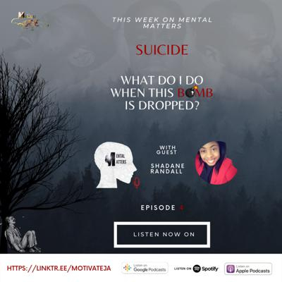 Cover art for Suicide? Something's definitely wrong