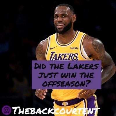 Cover art for Did the Lakers just win the offseason?