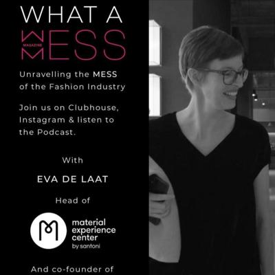 Cover art for Episode 4 with Eva de Laat, Creative Director of Material Experience Center