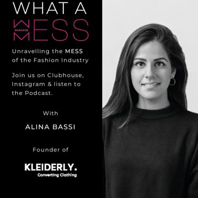 Cover art for Episode 5 with Alina Bassi, Founder and CEO of Kleiderly Berlin